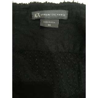 Armani Exchange black skirt