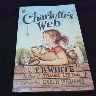 Charlotte's Web - English story book for children