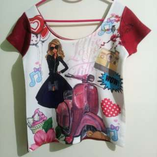 Matinee Printed Top