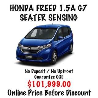 BRAND NEW Honda Freed 1.5 G Hybrid 7 Seater