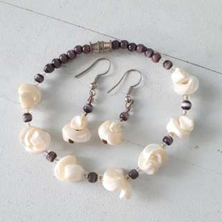 Bracelet-Earring Set