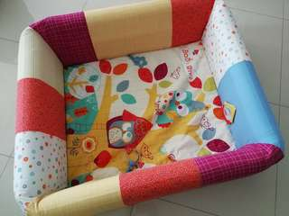 Lucky Baby inflatable playmat