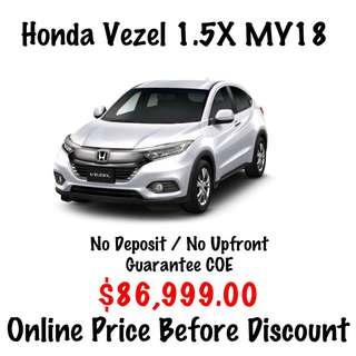 BRAND NEW Honda Vezel 1.5 X MY18