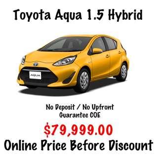 BRAND NEW Toyota Aqua 1.5 Hybrid