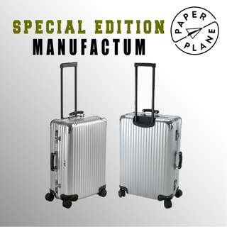 【PAPERPLANE】特別版 l RIMOWA Manufactum Series 923.90.002/9 行李箱 旅遊 旅行