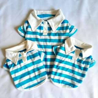 [FOR DOGS] Stripes Polos