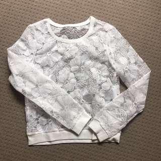White top jumper