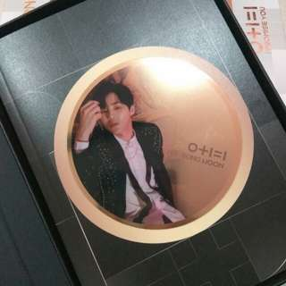 Wanna One - Ha Sungwoon I Promise You Night Ver. Mirror Card