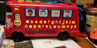 V tech phonic bus toy