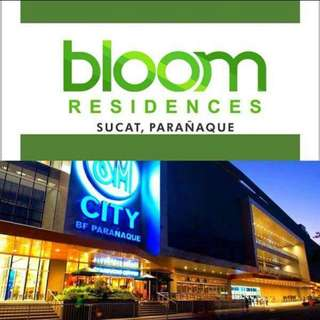BLOOM RESIDENCES by SMDC 🍀🌿🌳 🔜 Turn Over 2022 Location: Sucat, Paranaque Near Airport, SM Bicutan, SM BF  ➡️2 BEDROOMS W/ BALCONY CONDO UNIT As low as Php 13,000++ monthly!  NEWLY LAUNCHED PROJECT!!!  PROMO! 📣 PROMO! 📣 PROMO! 📣