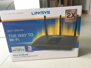 Linksys Max- Stream Router