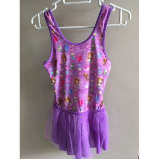 Sofia the First casual dress (purple / 8-9 years old)