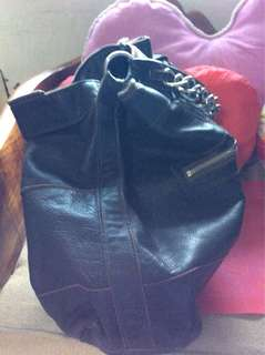 Genuine Leather Carry All