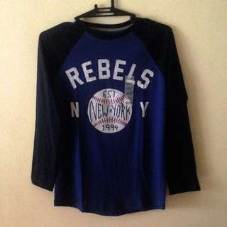 Rebel's Baseball Tee