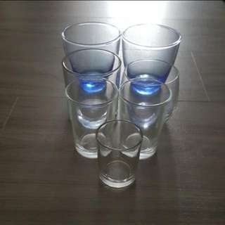 Assorted Drinking Glass In Different Size