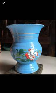 Peranakan Antique Vintage Spittoon