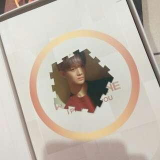 Wanna One - Bae Jinyoung I Promise You Day Ver. Tazzo Card