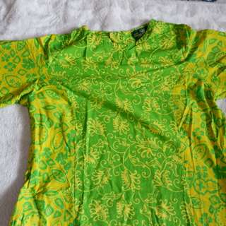 Designer Batik Dress from Indonesia