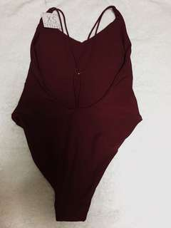 One Piece Swimsuit (with sexy back details)