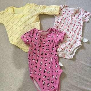 🚚 二手uniqlo 男童女童嬰幼連身衣