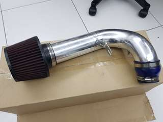 Used air filter modified