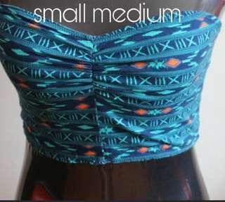 Aztec tube top
