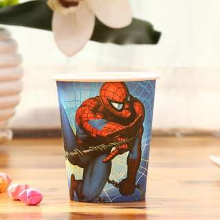 💥 Superheroes Spiderman party supplies - party cups