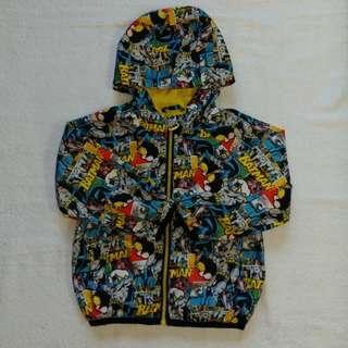 🚚 童 蝙蝠俠風衣夾克-近新