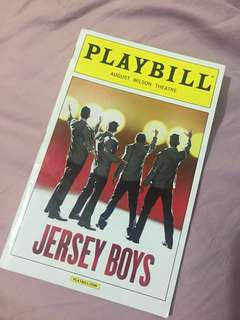 PLAYBILL: Jersey Boys (2013)