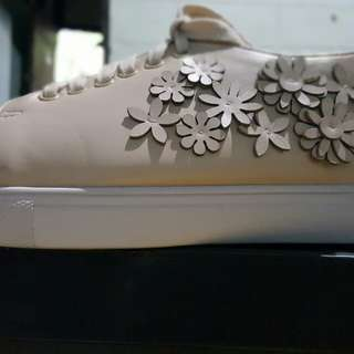 Floral Cut Out Sneakers
