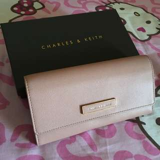 Charles & Keith Blush Wallet