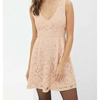 Forever21 Lower Back lacey dress