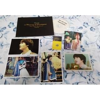 [FANSITE GOODS} BabyKyu0203 The Memory of D'artagnan Mini Photobook + DVD (Super Junior Kyuhyun)