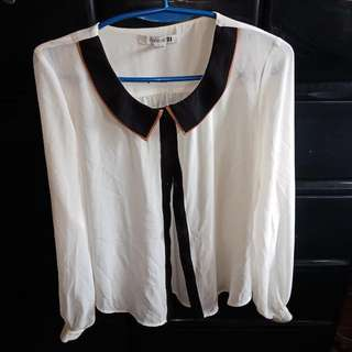 Forever 21 Formal Blouse