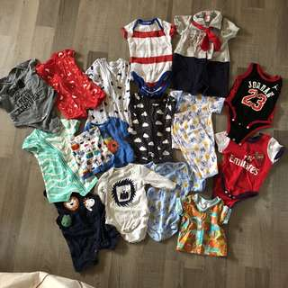 Preloved clothings for babies
