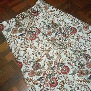 BN! Wrap Batik Pants