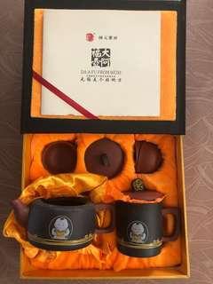 紫砂 Clay Chinese Tea Set from Wuxi 福阿大壶