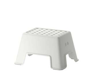 IKEA BOLMEN Step Stool - White