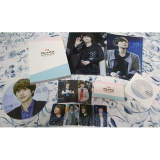 [FANSITE GOODS] HoneyMallow 2nd Photobook + DVD 'Pit-a-Pat' (Super Junior Kyuhyun)