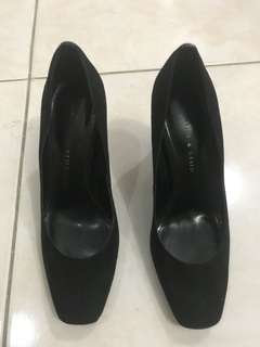 Charles and Keith Black Shoes