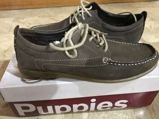 Hush Puppies Cowley Anchor - Brown (Brand New)