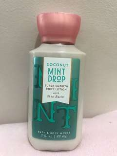 Coconut Mint Drop Body Lotion