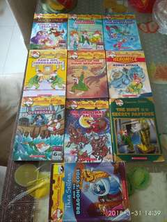 Geronimo Stilton's books