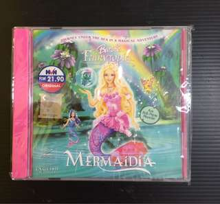 Limited Edition Barbie Fairytopia Mermaidia VCD