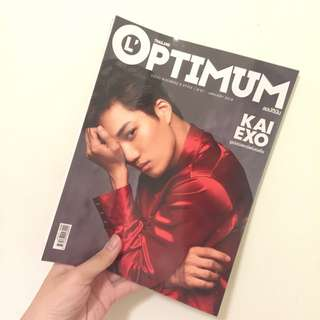Kai Cover L'optimum January 2018 issue