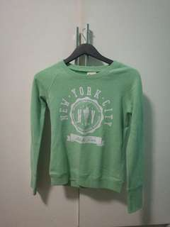 F&X Mint Sweater