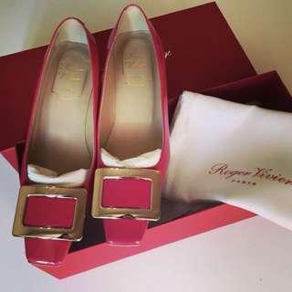 Roger Vivier shoes RV 4.5cm heels 34.5