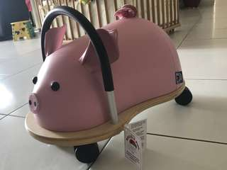 authentic Wheely Bug pig