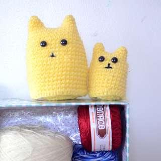 Amigurumi Cat Dolls