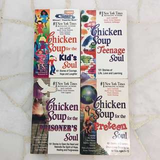 Set of 4 Chicken Soup for the Soul